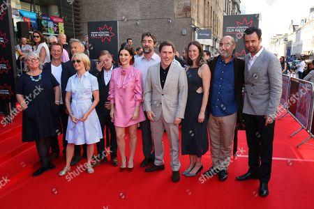 Rob Brydon, Rupert Graves, Nathaniel Parker, Charlotte Riley, Jane Horrocks, Daniel Mays, Thomas Turgoose and director Ol Parker.