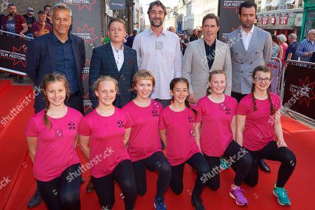 Rupert Graves, Thomas Turgoose, Nathaniel Parker, Rob Brydon, Daniel Mays, Edinburgh Synchronised Swimming Club
