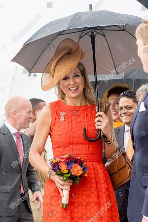 Dutch Royals visit to the Caribbean, Day 1