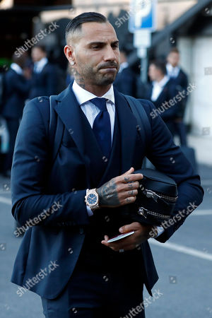 Portugal's Ricardo Quaresma at his arrival at Humberto Delgado airport in Lisbon, Portugal, 01 July 2018. After defeat against Uruguay, the Portugal national soccer team was eliminated from the FIFA World Cup 2018 round of 16.