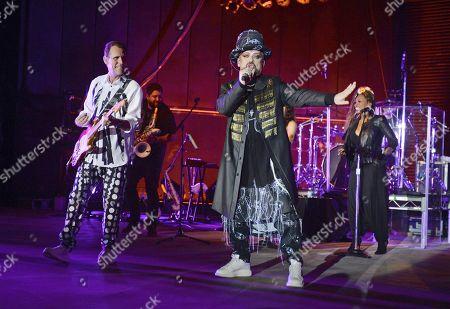 Editorial picture of Culture Club in concert at The Pompano Beach Amphitheater, Pompano Beach, Florida, USA - 01 Jul 2018