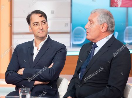 Alistair McGowan and Peter Shilton