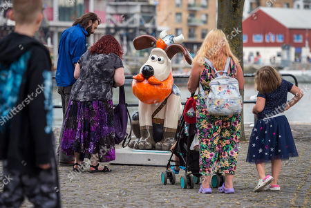 Editorial image of 'Gromit unleashed 2' installation, Bristol, UK - 01 Jul 2018