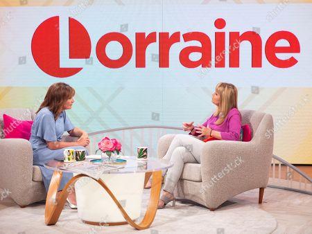 Lorraine Kelly and Sian Lloyd