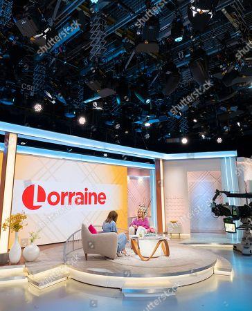 Editorial image of 'Lorraine' TV show, London, UK - 02 Jul 2018