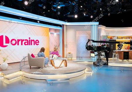 Stock Picture of Lorraine Kelly and Sian Lloyd