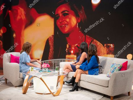 Stock Photo of Lorraine Kelly with Sharon Steel and Amber Davies