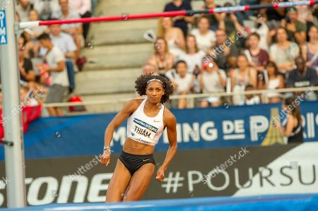 Stock Picture of Thiam Nafissatou performs during the high jump women