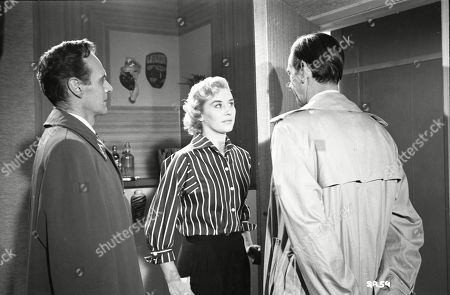 Brown Derby (Sergeant Roberts), Naomi Chance (Diana), Valentine Dyall (Inspector Kayes)