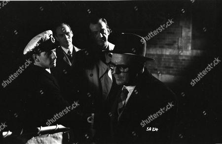 Brown Derby (Sergeant Roberts), Valentine Dyall (Inspector Kayes), Lloyd Lamble (Waller)