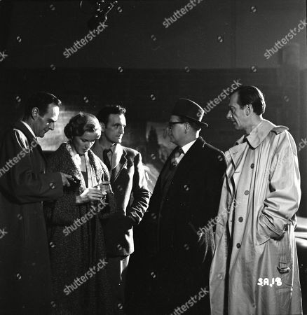 Brown Derby (Sergeant Roberts), Honor Blackman (Lynn Pearson), Andrew Keir (Sandy Thorpe), Lloyd Lamble (Waller), Valentine Dyall (Inspector Kayes)