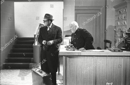Lloyd Lamble (Waller), Wally Patch (Porter)