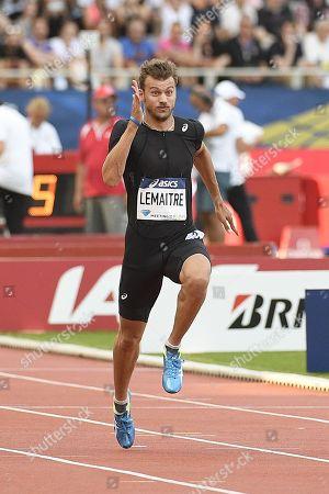 Christophe Lemaitre during Paris' Diamond League meeting.