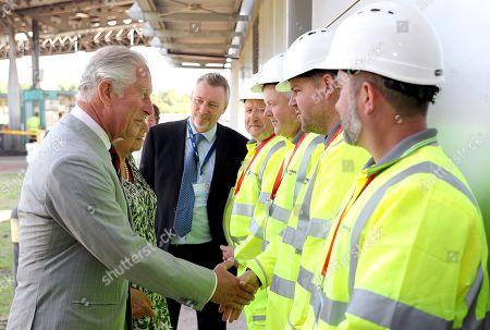 Prince Charles and Camilla Duchess of Cornwall visit to Wales, Day 1