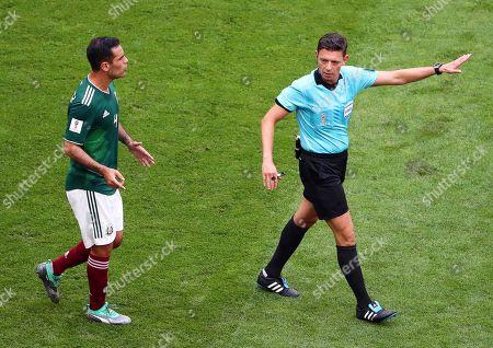 Rafael Marquez and Gianluca Rocchi