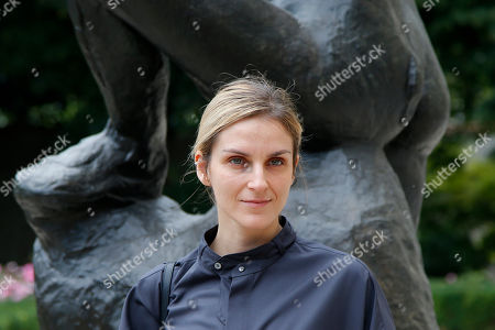 Gaia Repossi poses during a photocall before the presentation of Dior Haute Couture Fall-Winter 2018/2019 fashion collection, in Paris