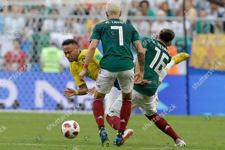 Editorial photo of Russia Soccer WCup Brazil Mexico, Samara, Russian Federation - 02 Jul 2018