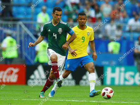 Editorial photo of Brazil v Mexico, Round of 16, 2018 FIFA World Cup football match, Samara Arena, Russia - 02 Jul 2018