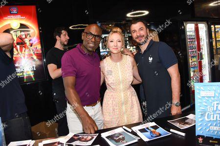Lucien Jean Baptiste, Audrey Lamy, Michael Youn