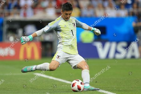 Japan goalkeeper Eiji Kawashima