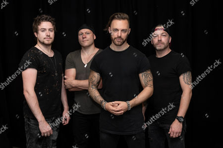 Editorial picture of Bullet For My Valentine in concert, London, UK - 02 Jul 2018
