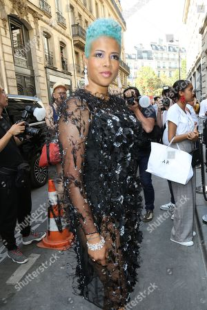 Editorial picture of Ralph and Russo show, Arrivals, Fall Winter 2018, Haute Couture Fashion Week, Paris, France - 02 Jul 2018