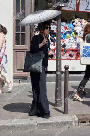 Stock Picture of Diane Pernet