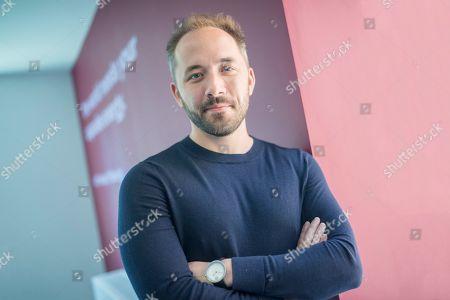 Editorial picture of Drew Houston CEO of Dropbox, London, UK - 18 Jun 2018