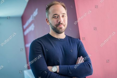 Editorial picture of Drew Houston CEO of Dropbox, London, UK - 18 Jun 2018
