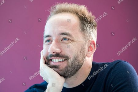 Editorial photo of Drew Houston CEO of Dropbox, London, UK - 18 Jun 2018