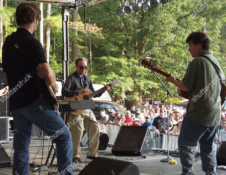 Stone Mountain Ga - August 25: Al Stewart is Backed Up by Ambrosia During the Z93 Music Festival at Stone Mountain Park On August 25 2001