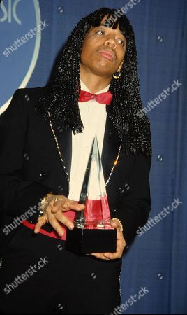 Rick James Attending the American Music Awards in Los Angeles California January 1981