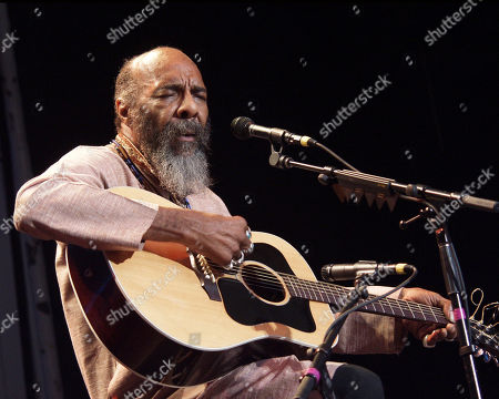 Atlanta Ga - August 1: Richie Havens Performs at the Wildflowers Festival at Chastain Park Amphitheatre in Atlanta Georgia On August 1 2001
