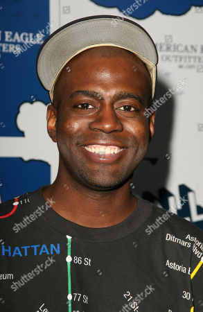 Stock Picture of Deon Richmond Attends the Premiere of the American Eagle Outfitters Series 'It's a Mall World' Directed by Milo Ventimiglia in Hollywood Ca On July 31 2007