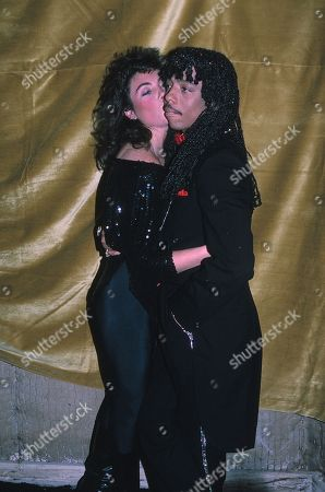 Editorial picture of Rick James and Laura Branigan - 22 Jan 2011