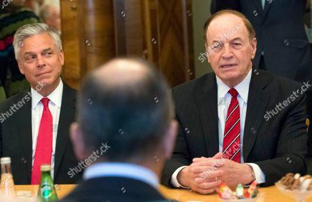 Richard Shelby, Sergei Lavrov and Jon Huntsman Jr.