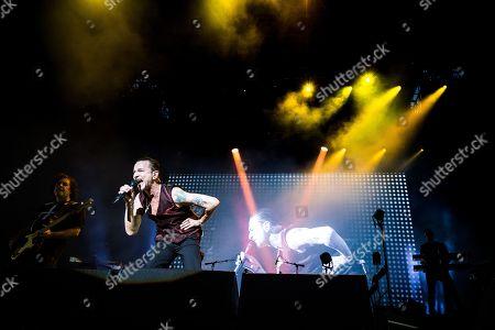 Stock Photo of Depeche Mode - David Gahan
