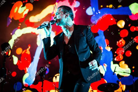 Editorial picture of Depeche Mode in concert, Barolo, Italy - 02 Jul 2018