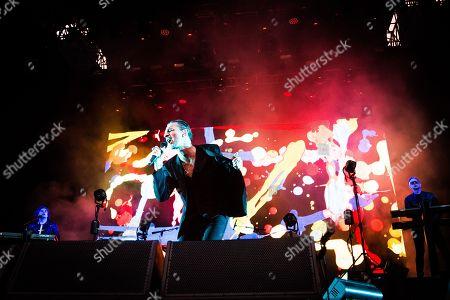 Editorial photo of Depeche Mode in concert, Barolo, Italy - 02 Jul 2018
