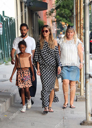 Editorial photo of Heidi Klum family out and about, New Yor, USA - 02 Jul 2018