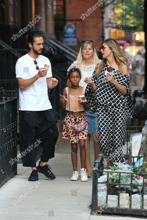 Editorial picture of Heidi Klum family out and about, New Yor, USA - 02 Jul 2018