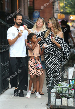 Editorial image of Heidi Klum family out and about, New Yor, USA - 02 Jul 2018