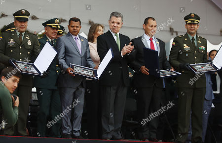 Editorial image of Commemoration of the 10 years of 'Operation Jaque' that freed 15 kidnapped FARC, Bogot? Colombia - 03 Jul 2018