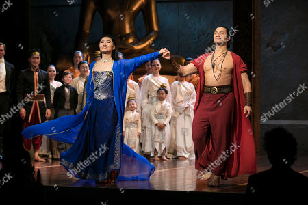 Editorial picture of 'The King and I' play, Press Night, London, UK - 03 Jul 2018