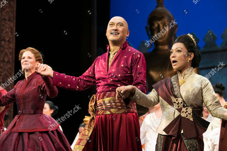 Editorial image of 'The King and I' play, Press Night, London, UK - 03 Jul 2018