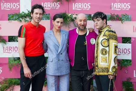 Jorge Suquet, Barbara Lennie, Diego Postigo and Alejandro Gomez Palomo (Palomo Spain)