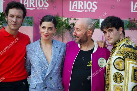 Stock Photo of Jorge Suquet, Barbara Lennie, Diego Postigo and Alejandro Gomez Palomo (Palomo Spain)