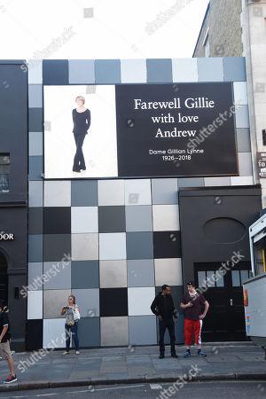 Tribute To Gillian Lynne