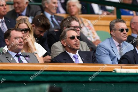 Larry Ellison in the Royal Box