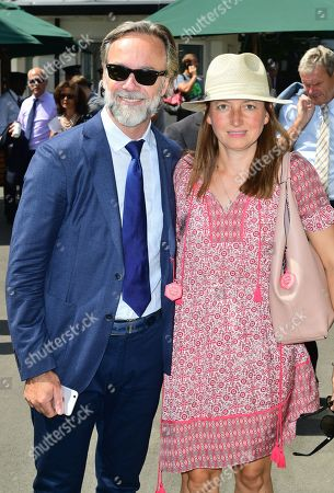 Stock Image of Marcus Wareing and Jane Wareing